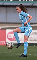 20170414 - Zulte , BELGIUM : AA Gent's Silke Vanwynsberghe  pictured during the soccer match between the women teams of Zulte Waregem and AA Gent Ladies , in the semi final matchday of the Belgian CUP - Beker van Belgie voor Vrouwen competition on Friday 14th April 2017 in Zulte .  PHOTO SPORTPIX.BE DIRK VUYLSTEKE
