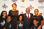 Robin Roberts & Al Roker & Harlem Skaters - Figure Skating in Harlem presents Champions in Life Benefit Gala on April 29, 2019 at Chelsea Pier, New York City, New York - (Photo by Sue Coflin/Max Photos)