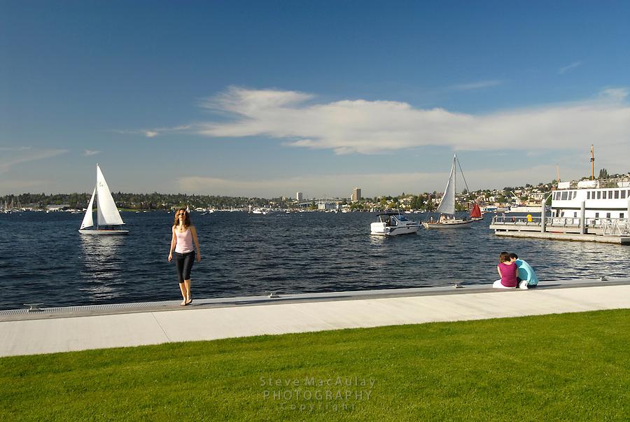 South Lake Union Park, Seattle, WA.