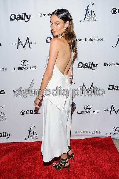 08 September 2016 - New York, New York- Nicole Trunfio. Daily Front Row's Fourth Annual Fashion Media Awards. Photo Credit: Mario Santoro/AdMedia