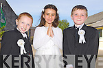 Pupils of Saint John's Parochial School, Ashe Street, Tralee who received their First Communion on Sunday at Saint John's Church, Castle Street, Tralee. <br />