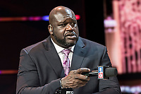 LAS VEGAS, NV - JANUARY 11: Shaquille O'Neal pictured during a special live NBA On TNT Telecast at CES 2018 in Las Vegas, Nevada on January 11, 2018. Credit: Damairs Carter/MediaPunch