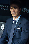 Real Madrid coach Julen Lopetegui during Santiago Bernabeu Trophy match at Santiago Bernabeu Stadium in Madrid, Spain. August 11, 2018. (ALTERPHOTOS/Borja B.Hojas)