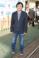LOS ANGELES, CA - FEBRUARY 03: Actor Masi Oka arrives at the Premiere Of Columbia Pictures' 'Peter Rabbit' at The Grove on February 3, 2018 in Los Angeles, California.<br /> CAP/ROT/TM<br /> &copy;TM/ROT/Capital Pictures