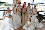 Sophie Ennis, Jennifer Neary, Suzanne O'Toole, Ellen Ennis, Eileen Short and Elaine Hobbs at the Bridal Photoshoot in Bru. Dresses by Edel Tuite, Bouquets by Kays School of Florestry, Makeup by the Beauty Academy and Jewellery by The Design Gallery..(Photo credit should read Jenny Matthews www.newsfile.ie)....This Picture has been sent you under the conditions enclosed by:.Newsfile Ltd..The Studio,.Millmount Abbey,.Drogheda,.Co Meath..Ireland..Tel: +353(0)41-9871240.Fax: +353(0)41-9871260.GSM: +353(0)86-2500958.email: pictures@newsfile.ie.www.newsfile.ie.