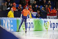 SCHAATSEN: HEERENVEEN: 11-12-2016, IJsstadion Thialf, ISU World Cup, Dai Dai Ntap, ©foto Martin de Jong