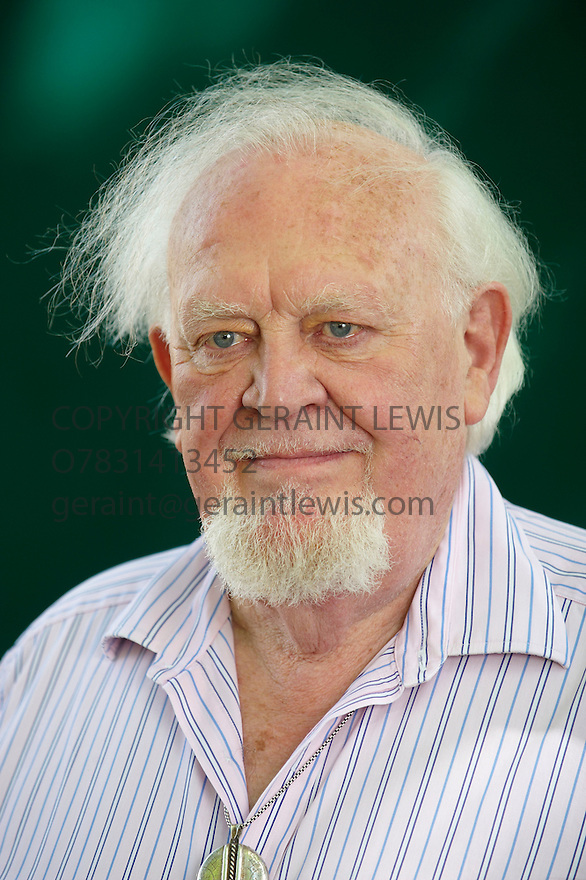 Joss Ackland,film actor at The Edinburgh International Book Festival 2009.CREDIT Geraint Lewis