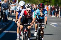 Picture by Alex Whitehead/SWpix.com - 28/09/2018 - Cycling - UCI 2018 Road World Championships - Innsbruck-Tirol, Austria - U23 Men's Road Race - Marc Hirschi of Switzerland wins Gold.
