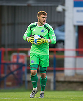 Goalkeeper Mark Smith of Aldershot Town during the pre season friendly match between Aldershot Town and Chelsea U23 at the EBB Stadium, Aldershot, England on 19 July 2017. Photo by Andy Rowland / PRiME Media Images.