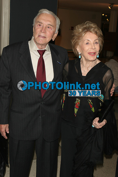 Kirk Douglas and wife 2006<br /> Photo By John Barrett-PHOTOlink.net