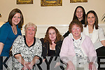 The Lyons Clan: Enjoying Womens Christmas in The Arms Hotel, Listowel, on Saturday night were Michelle Lyons, Dublin, Patricia Lyons, Marina McCool, Bridget Browne, Jennifer Lyons and Louise Lyons, Listowel..