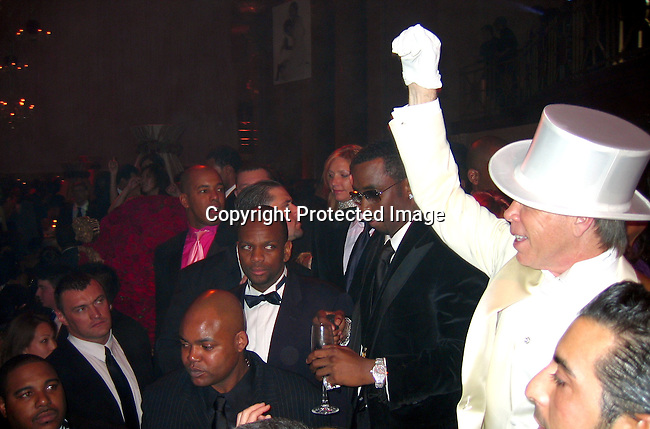 Sean P. Diddy Combs &amp; Tommy Hilfiger<br />Sean P. Diddy Combs Celebrates his 35th birthday by giving himself a Royal Birthday Ball<br />Cipriani Wall Street<br />New York, NY, USA<br />Thursday, November 04, 2004<br />Photo By Celebrityvibe.com/Photovibe.com, New York, USA, Phone 212 410 5354, email:sales@celebrityvibe.com