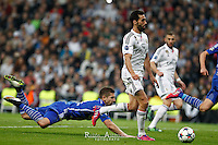 Real Madrid's Spanish defense Alvaro Arbeloa