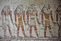 Afrique/Egypte/Env de Louxor/Ancienne Thèbes: La vallée des rois - Tombe de Ramsès VI