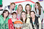 BASKETBALL: Partaking in the Shannonside Mini Region Annual Basketball competitions in The Community Centre, Ballybunion, on Friday night were, front l-r: Michele Corridon, Kayla Sheehy, Aileen Kennelly and Gerdi Mulvihill. Back l-r: Denise Flaherty, Jennifer Kennelly, Denise Collins and Ciara Healy (Moyvane)..