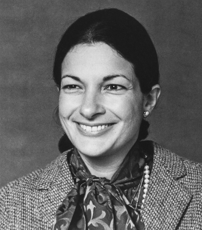 Close-up of Rep. Olympia Snowe, R-Maine, in 1985. (Photo by CQ Roll Call via Getty Images)