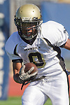 Torrance, CA 09/08/11 - Jordan Gates (Peninsula #9) in action during the North-Peninsula Junior Varsity Football game at North High School in Torrance. in action during the North-Peninsula Junior Varsity Football game at North High School in Torrance.