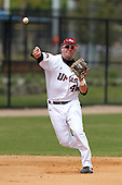 UMass Nik Campero #44 during a game vs Indiana Hoosiers at Lake Myrtle Main Field in Auburndale, Florida;  March 16, 2011.  Indiana defeated UMass 11-10.  Photo By Mike Janes/Four Seam Images