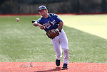 Western Nevada Wildcat second baseman Jack Hall, makes a play during a college baseball game against Colorado Northwestern in Carson City, Nev., on Sunday, March 10, 2013. WNC swept the weekend series 4-0. .Photo by Cathleen Allison/Nevada Photo Source