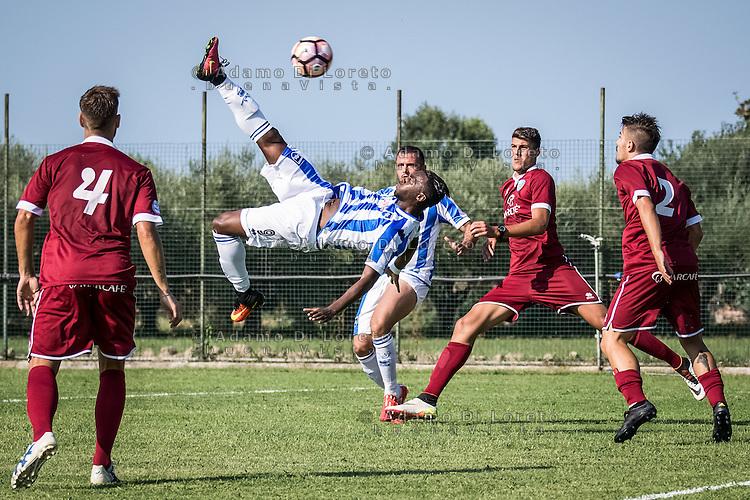 Jean-Christophe Bahebeck (Pescara) during the Italian friendly football match San Nicolò vs Pescara (0-3) on September 01, 2016, in San Nicolò (TE), Italy. Photo by iSportFoto.it