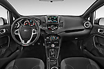 Stock photo of straight dashboard view of a 2015 Ford Fiesta St MT 2Wd 5 Door Hatchback 2WD Dashboard