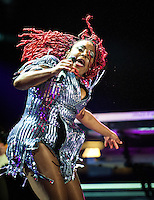 Ledisi performs at Essence Festival 2012 in New Orleans, LA on July 7, 2012.  © HIGH ISO Music, LLC / Retna, Ltd.