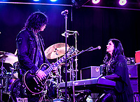 """Tom Keifer, Vocals and Savannah Keifer, Backup Vocals for the """"KEIFER BAND"""" Performs at The Coach House in San Juan Capistrano during their Rise Tour on August 30th, 2019"""
