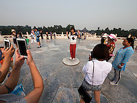 Altarterrasse im Himmelstempel Park, Peking, China, Asien, UNESCO-Weltkulturerbe<br /> altar terrace, park of temple of Heaven, Beijing, China, Asia, world heritage