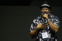 SÃO PAULO,SP, 02.12.2016 - COMIC-CON - Ator Ailton Graça durante a Comic Con 2016 no São Paulo Expo na região sul da cidade nesta sexta-feira, 02. (Foto: Vanessa Carvalho/Brazil Photo Press)