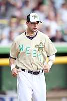June 24, 2009: Nick Van Stratten of the Burlington Bees at the 2009 Midwest League All Star Game at Alliant Energy Field in Clinton, IA.  Photo by: Chris Proctor/Four Seam Images