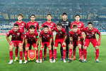 Shanghai SIPG squad pose for team photo during the AFC Champions League 2017 Round of 16 match between Jiangsu FC (CHN) vs Shanghai SIPG FC (CHN) at the Nanjing Olympic Stadium on 31 May 2017 in Nanjing, China. Photo by Marcio Rodrigo Machado / Power Sport Images