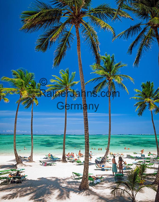 Dominikanische Republik, Punta Cana, Bavaro Beach   Dominican Republic, Punta Cana, Bavaro Beach