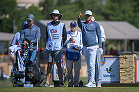 Julian Suri (USA) looks over his tee shot on 11 during Round 4 of the Valero Texas Open, AT&amp;T Oaks Course, TPC San Antonio, San Antonio, Texas, USA. 4/22/2018.<br /> Picture: Golffile | Ken Murray<br /> <br /> <br /> All photo usage must carry mandatory copyright credit (&copy; Golffile | Ken Murray)