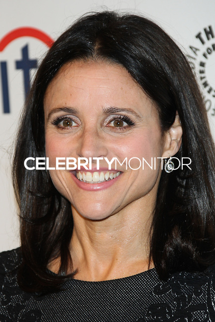 """HOLLYWOOD, LOS ANGELES, CA, USA - MARCH 27: Julia Louis-Dreyfus at the 2014 PaleyFest - """"Veep"""" held at Dolby Theatre on March 27, 2014 in Hollywood, Los Angeles, California, United States. (Photo by Celebrity Monitor)"""
