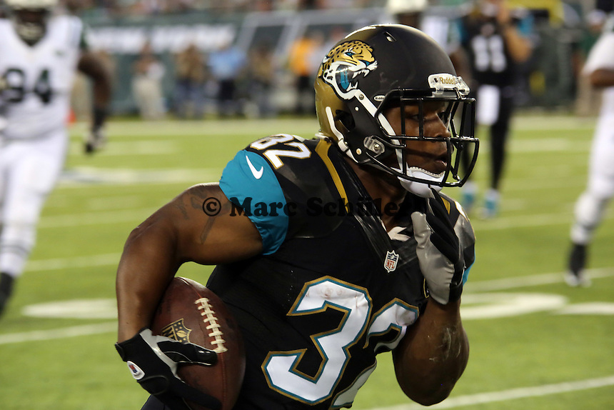 RB Maurice Jones-Drew (Jaguars) - New York Jets vs. Jacksonville Jaguars, Met Life Stadium