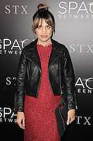 www.acepixs.com<br /> <br /> January 17 2017, LA<br /> <br /> Natalie Morales arriving at the premiere 'The Space Between Us' at the ArcLight Hollywood on January 17, 2017 in Hollywood, California. <br /> <br /> By Line: Peter West/ACE Pictures<br /> <br /> <br /> ACE Pictures Inc<br /> Tel: 6467670430<br /> Email: info@acepixs.com<br /> www.acepixs.com