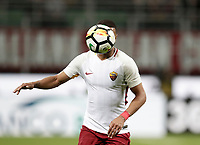 Calcio, Serie A: Milano, stadio Giuseppe Meazza (San Siro), 1 ottobre 2017.<br /> Roma's Bruno Peres in action during the Italian Serie A football match between Milan and AS Roma at Milan's Giuseppe Meazza (San Siro) stadium, October 1, 2017.<br /> UPDATE IMAGES PRESS/IsabellaBonotto
