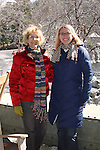 Guests at Murder Mystery Weekend at Mohonk Mountain House, New Paltz, New York, USA, on March 2006