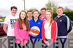 Currow/Cordal U16 -  front l-r Chloe O'Connor, Danny Lynch  Aoife O'Connor, Back l-r Jack Carlton, Padraig O'Connell, Patrick Horan, Jack Scanlon at the KDYS/Garda Basketball Blitz in the Castleisland Community Centre on Friday
