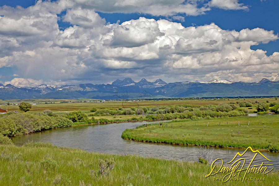 Teton River, Teton Valley, Idaho