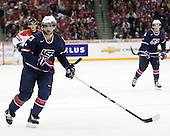 Kyle Palmieri (USA - 23) - Team Canada defeated Team USA 5-4 (SO) on Thursday, December 31, 2009, at the Credit Union Centre in Saskatoon, Saskatchewan, during the 2010 World Juniors tournament.