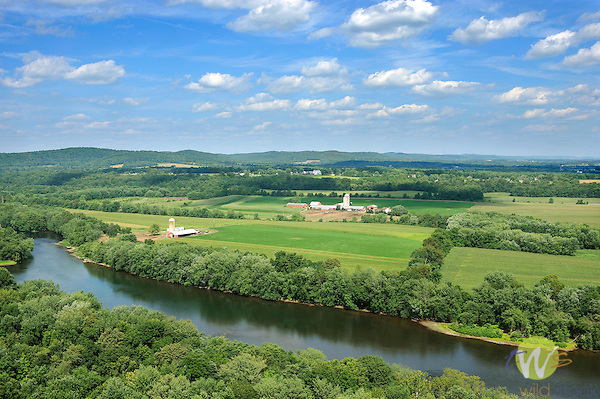 Susquehanna River and farmland