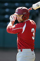 USC infielder Adrian Morales (3) prior to a game between the Clemson Tigers and South Carolina Gamecocks Saturday, March 6, 2010, at Fluor Field at the West End in Greenville, S.C. Photo by: Tom Priddy/Four Seam Images