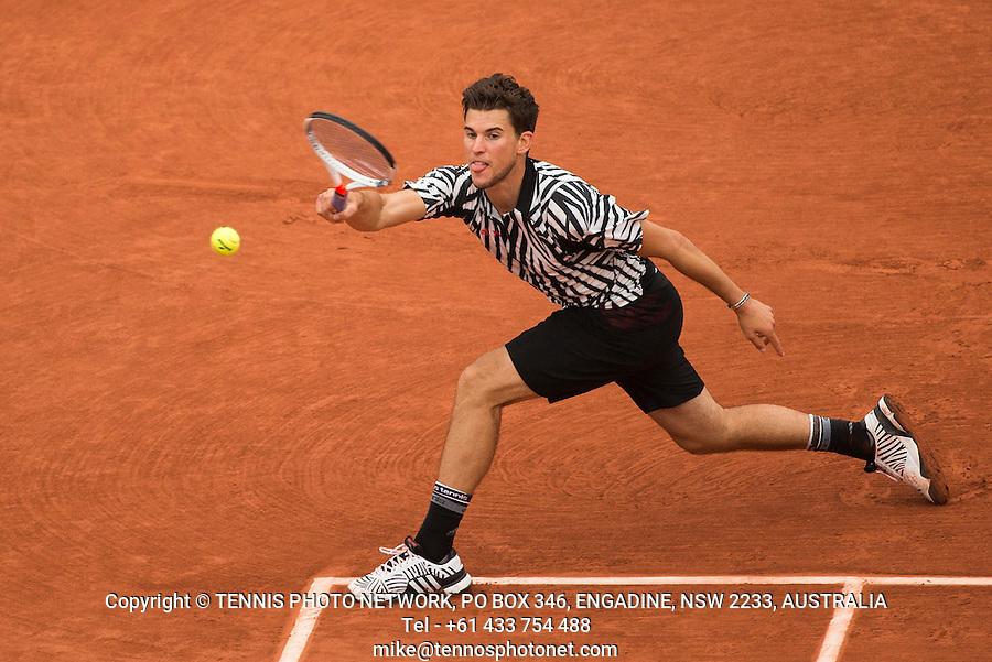 DOMINIC THIEM (AUT)<br /> <br /> TENNIS - FRENCH OPEN - ROLAND GARROS - ATP - WTA - ITF - GRAND SLAM - CHAMPIONSHIPS - PARIS - FRANCE - 2016  <br /> <br /> <br /> <br /> &copy; TENNIS PHOTO NETWORK