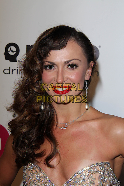 WEST HOLLYWOOD, CA - March 02: Karina Smirnoff at the 22nd Annual Elton John AIDS Foundation Oscar Viewing Party, Private Location, West Hollywood,  March 02, 2014.  <br /> CAP/MPI/JO<br /> &copy;Janice Ogata/MediaPunch/Capital Pictures
