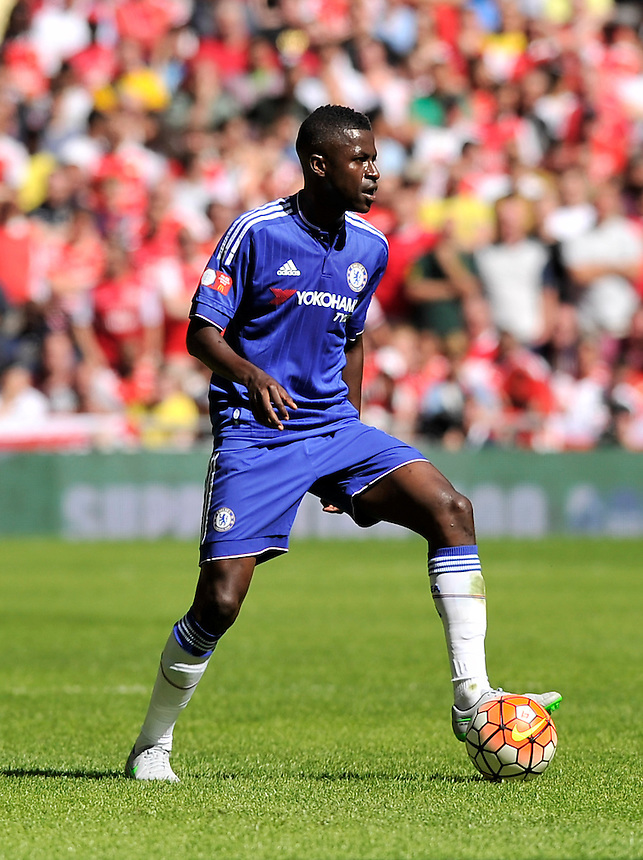 Chelsea's Ramires in action during todays match  <br /> <br /> Photographer Ashley Western/CameraSport<br /> <br /> Football - FA Community Shield - Arsenal v Chelsea - Sunday 2nd August 2015 - Wembley Stadium - London<br /> <br /> &copy; CameraSport - 43 Linden Ave. Countesthorpe. Leicester. England. LE8 5PG - Tel: +44 (0) 116 277 4147 - admin@camerasport.com - www.camerasport.com