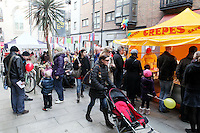 The Festival of Russian Culture family day at Cows Lane , Temple Bar, Dublin. Picture James Horan/Collins Photos