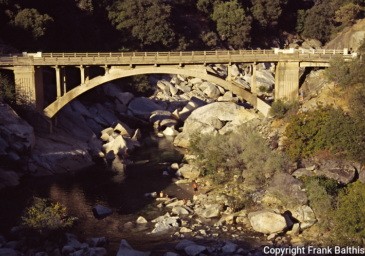 Swimmers at South Yuba River