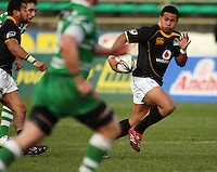 Wellington winger David Smith during the Air NZ Cup preseason match between Manawatu Turbos and Wellington Lions at FMG Stadium, Palmerston North, New Zealand on Friday, 17 July 2009. Photo: Dave Lintott / lintottphoto.co.nz