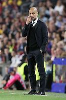 Pep Guardiola <br /> Barcellona 06-05-2015 Camp Nou Football Calcio 2014/2015 Champions League Semifinale Barcellona - Bayern 3-0<br /> Foto EXPA/ Eibner-Pressefoto/ Schueler/Insidefoto